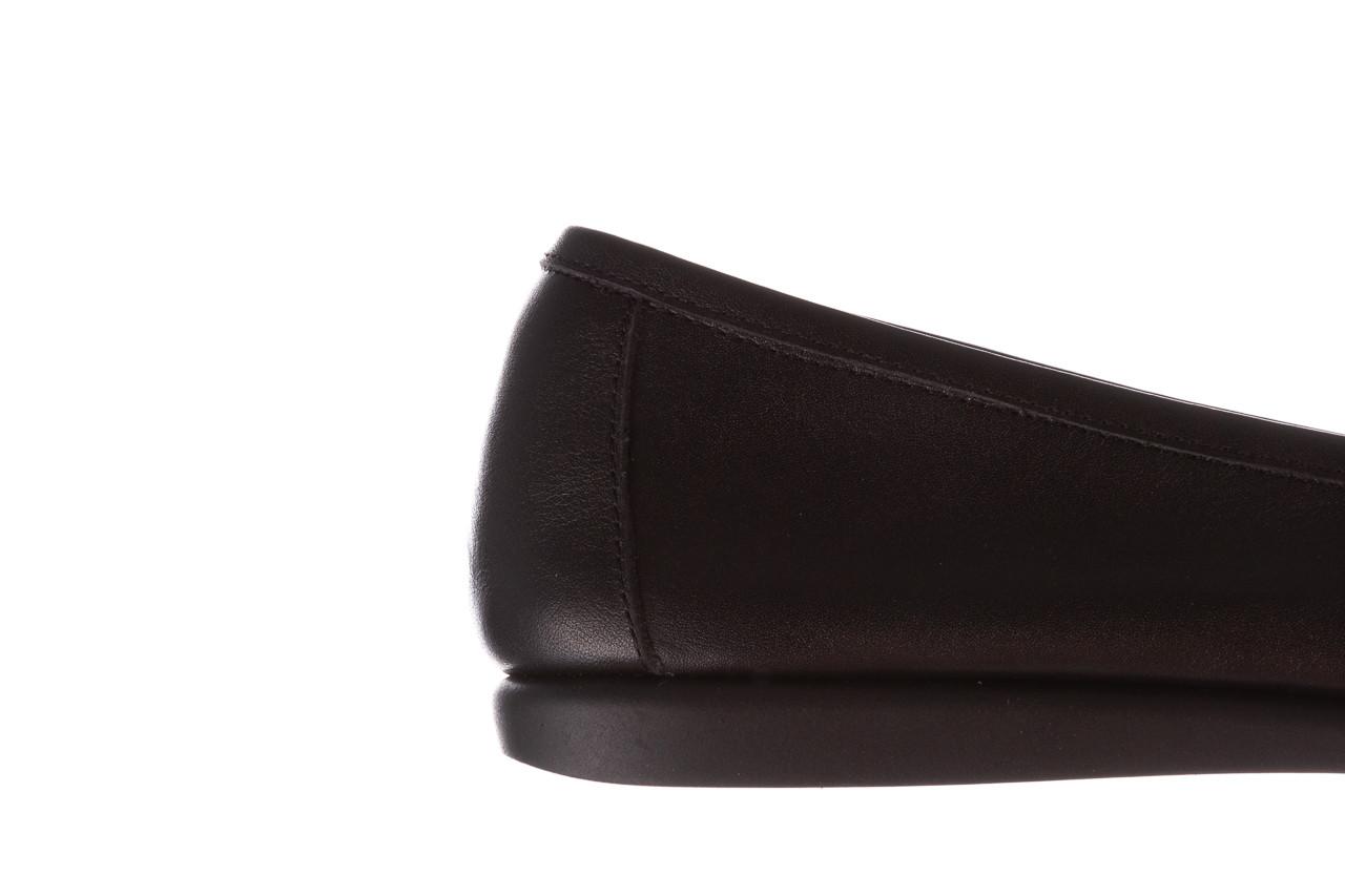 Półbuty bayla-196 168504 d44 196015, czarny, skóra naturalna  - skórzane - półbuty - buty damskie - kobieta 17