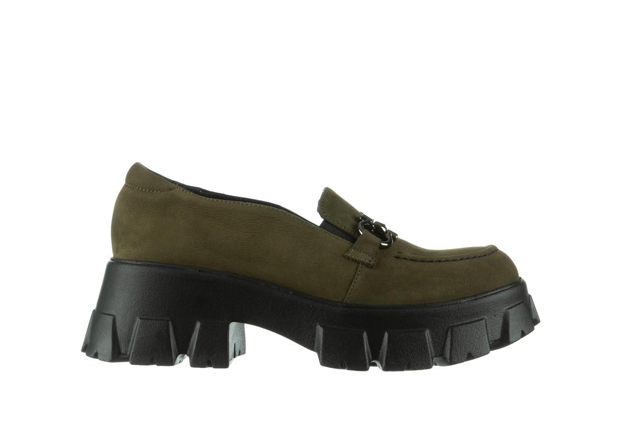 Półbuty bayla-196 20ef126-06 d87 196022, zielony, skóra naturalna  - półbuty - buty damskie - kobieta 10