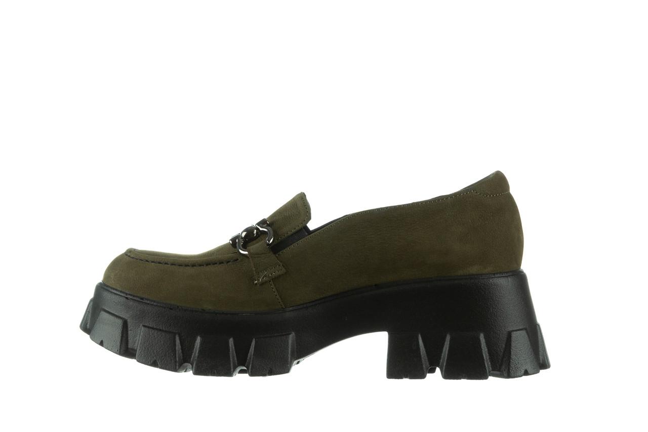Półbuty bayla-196 20ef126-06 d87 196022, zielony, skóra naturalna  - półbuty - buty damskie - kobieta 13
