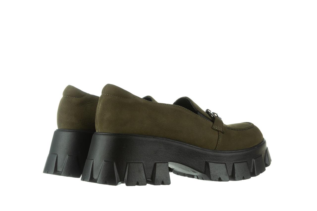 Półbuty bayla-196 20ef126-06 d87 196022, zielony, skóra naturalna  - półbuty - buty damskie - kobieta 14