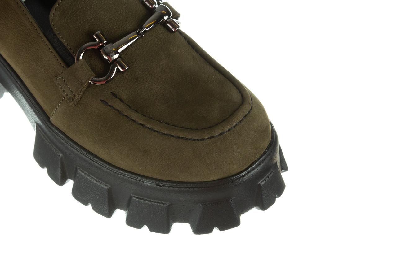 Półbuty bayla-196 20ef126-06 d87 196022, zielony, skóra naturalna  - półbuty - buty damskie - kobieta 18