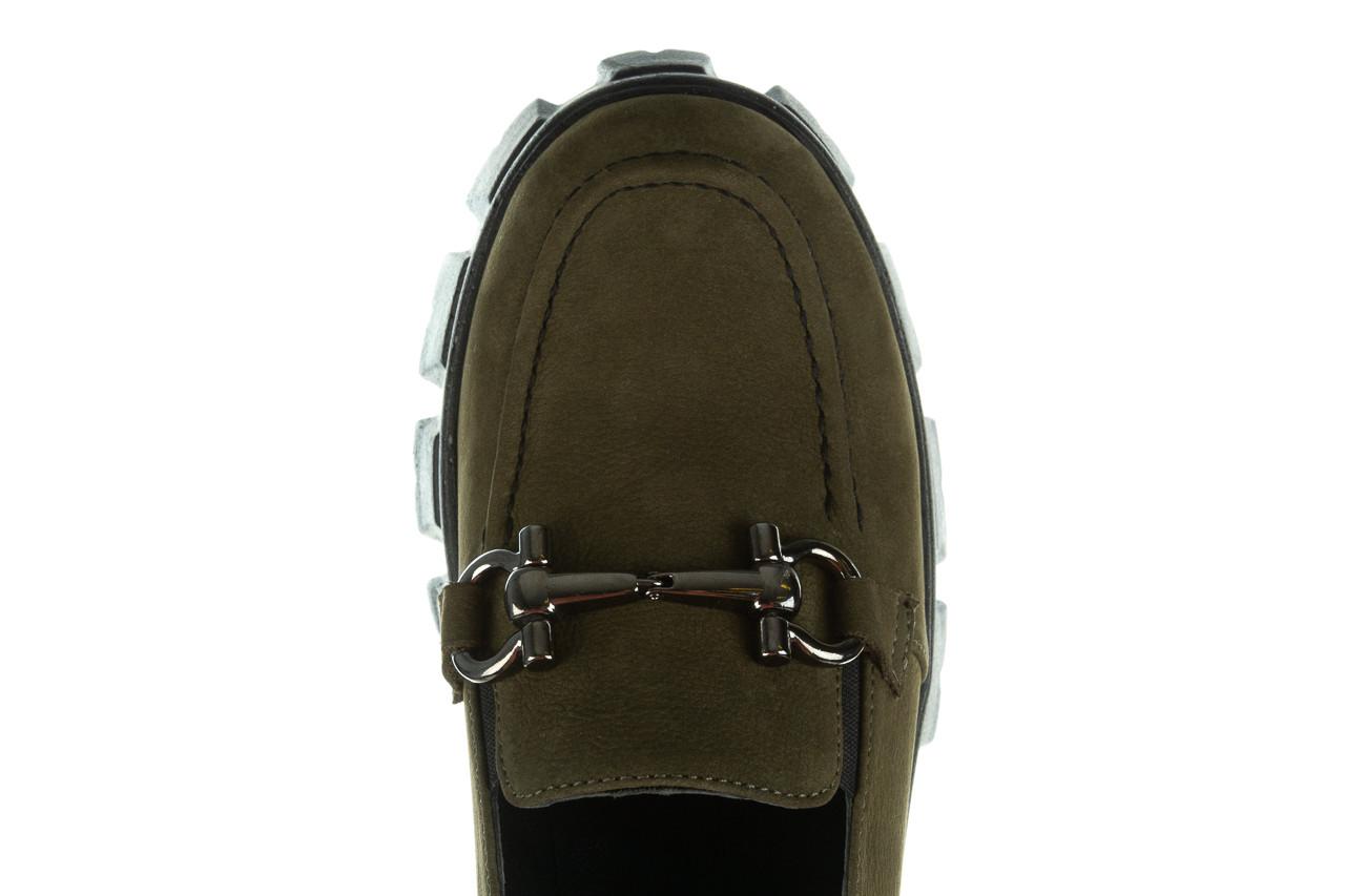 Półbuty bayla-196 20ef126-06 d87 196022, zielony, skóra naturalna  - półbuty - buty damskie - kobieta 16