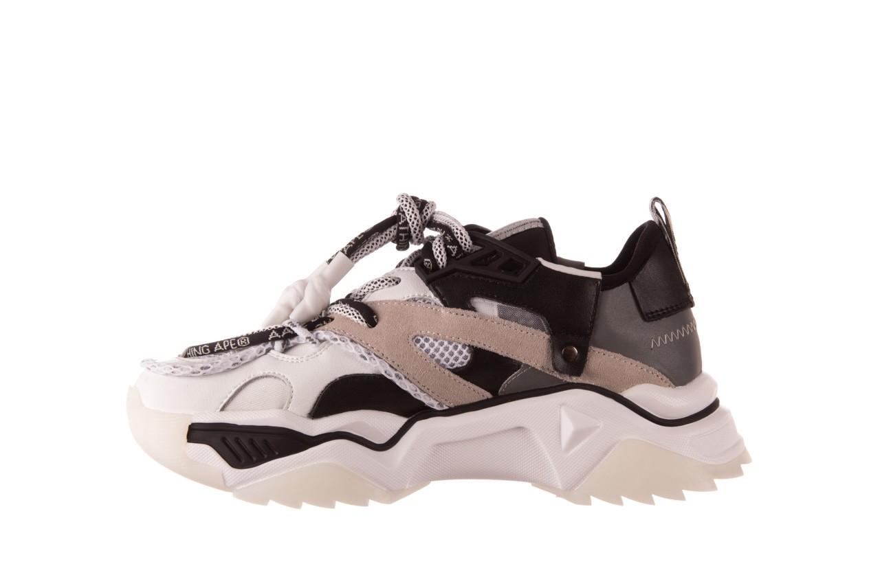 Sneakersy sca'viola e-39 white-black, biały/ czarny, skóra naturalna  - obuwie sportowe - dla niej  - sale 11