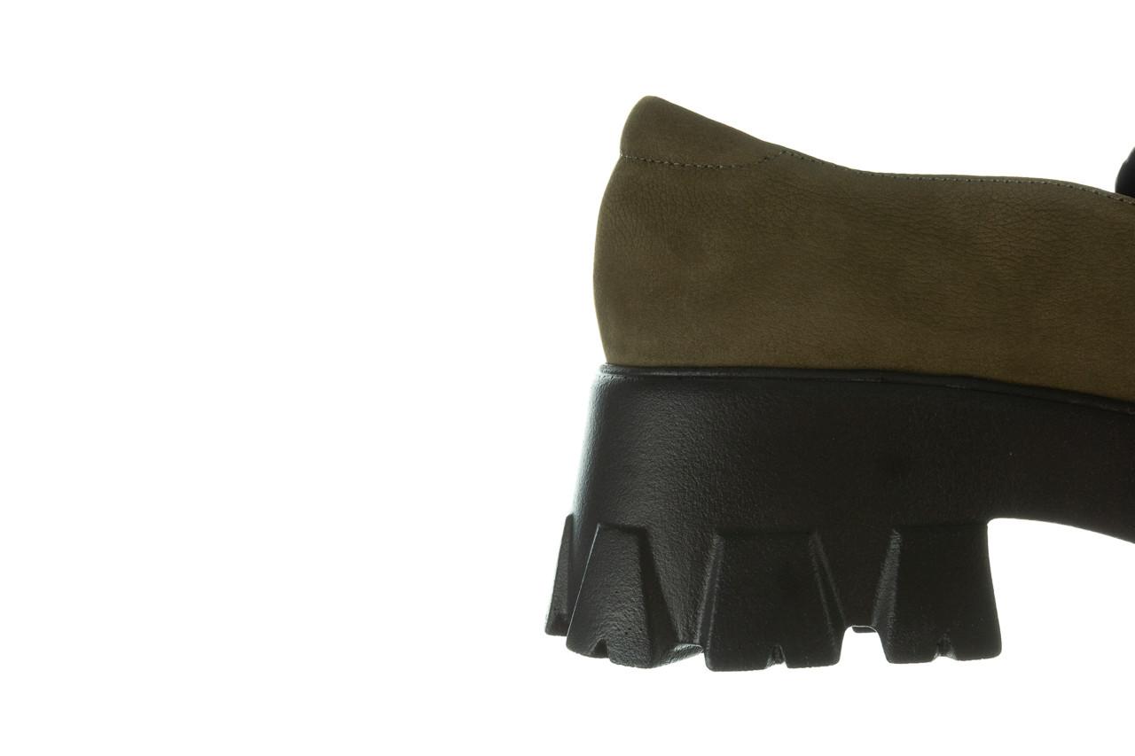 Półbuty bayla-196 20ef126-06 d87 196022, zielony, skóra naturalna  - półbuty - buty damskie - kobieta 17