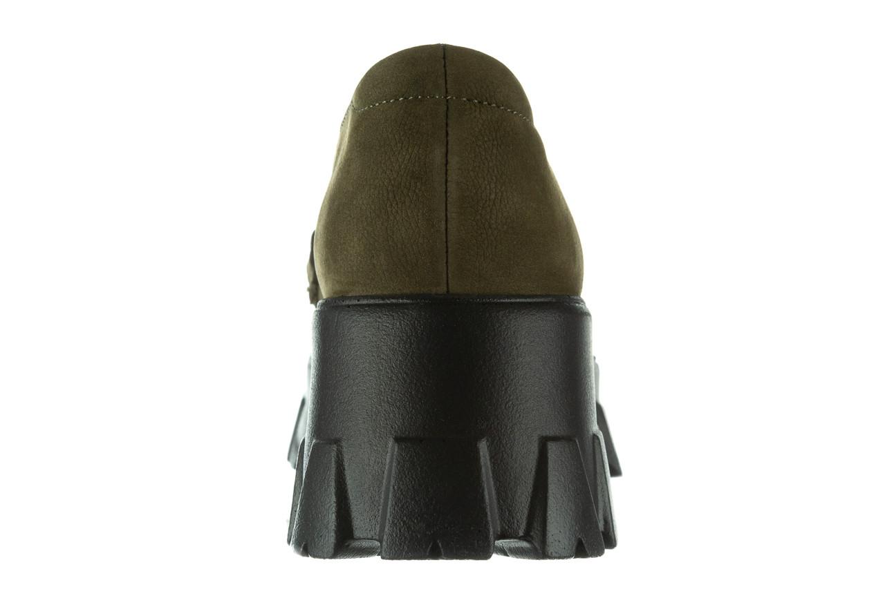 Półbuty bayla-196 20ef126-06 d87 196022, zielony, skóra naturalna  - półbuty - buty damskie - kobieta 19