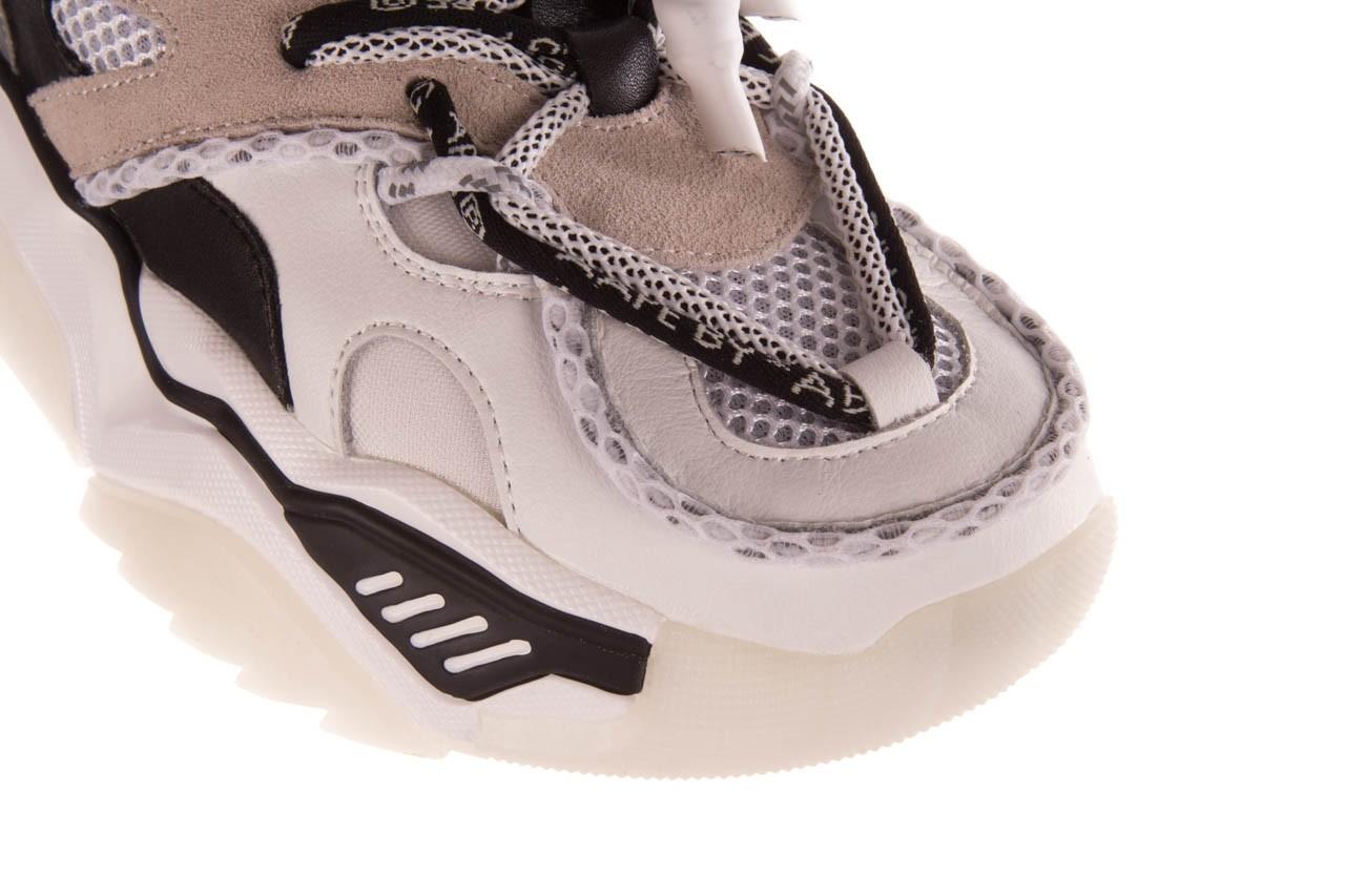 Sneakersy sca'viola e-39 white-black, biały/ czarny, skóra naturalna  - obuwie sportowe - dla niej  - sale 14