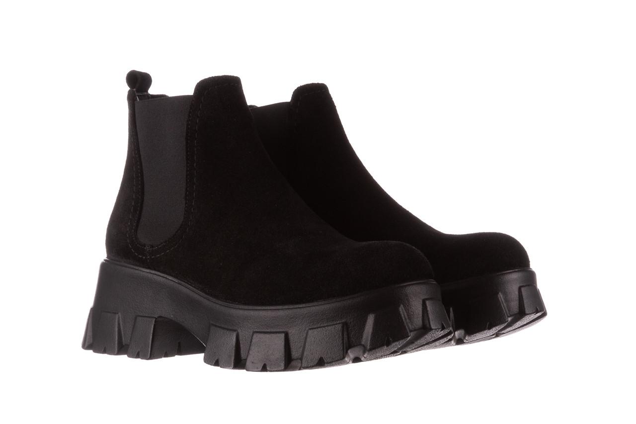 Botki bayla-196 20ef126-01 y16 196016, czarny, skóra naturalna  - buty zimowe - trendy - kobieta 11