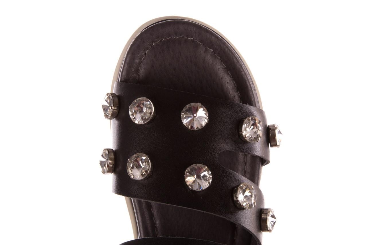 Klapki sca'viola b-185 black, czarny, skóra naturalna  - sca`viola - nasze marki 16