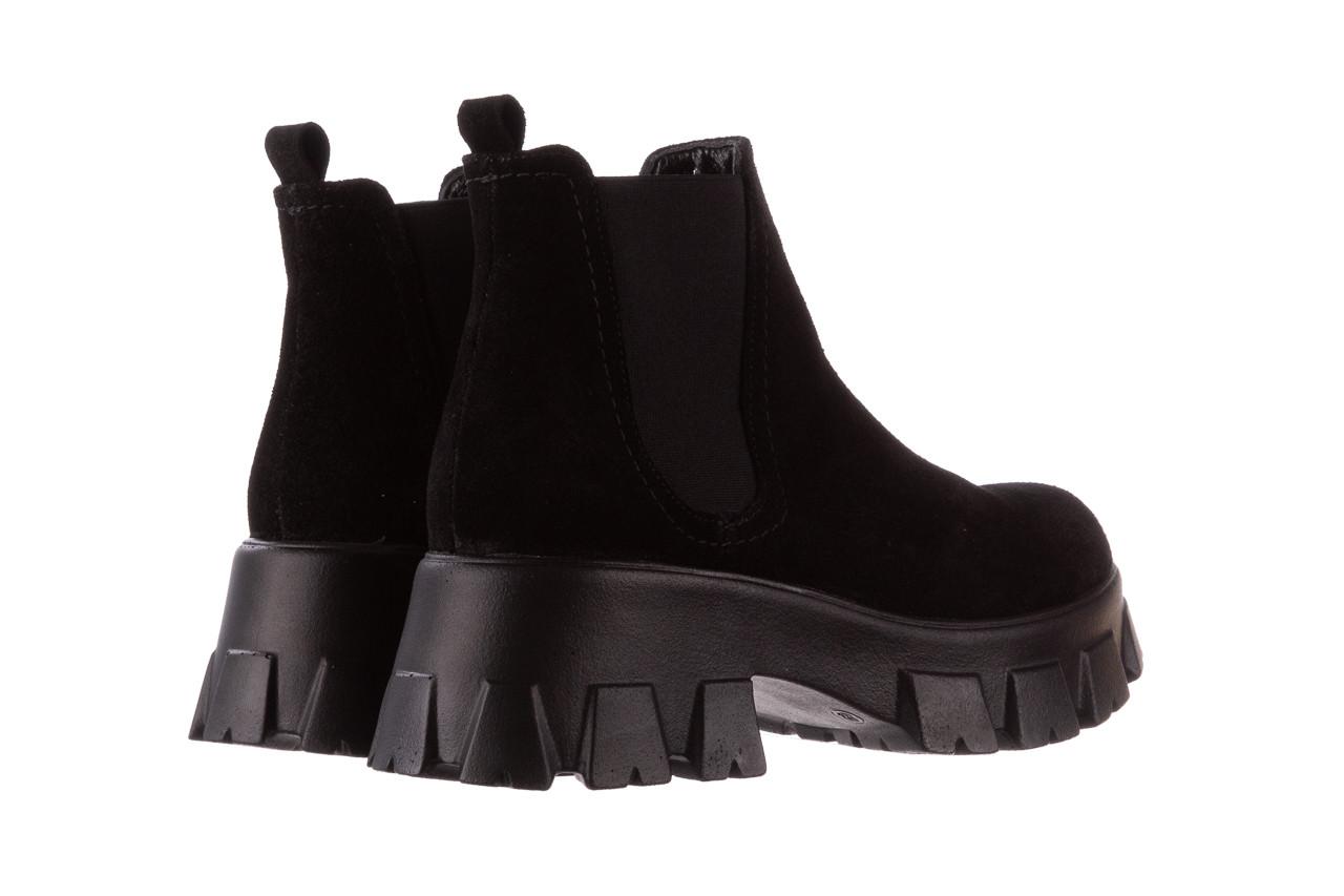 Botki bayla-196 20ef126-01 y16 196016, czarny, skóra naturalna  - buty zimowe - trendy - kobieta 14