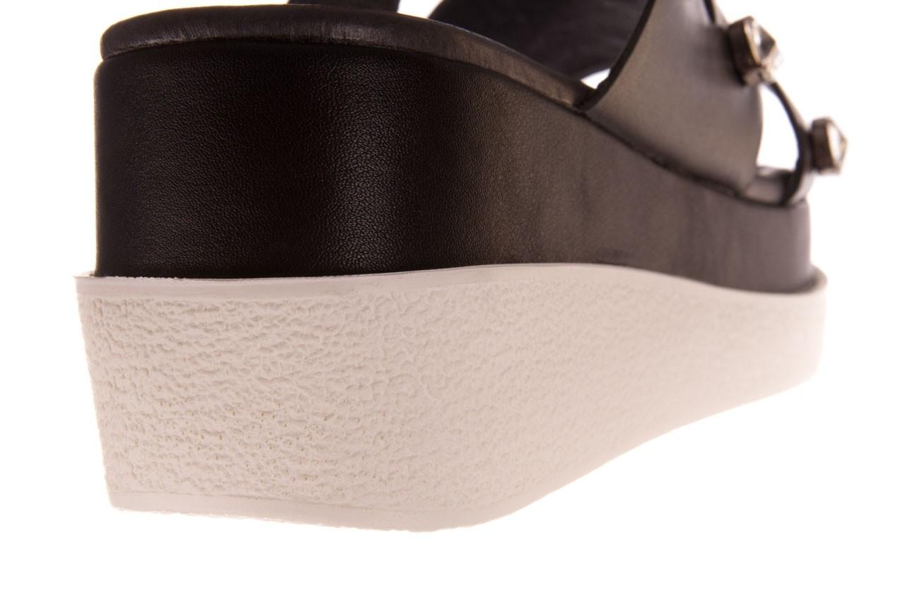 Klapki sca'viola b-185 black, czarny, skóra naturalna  - sca`viola - nasze marki 17