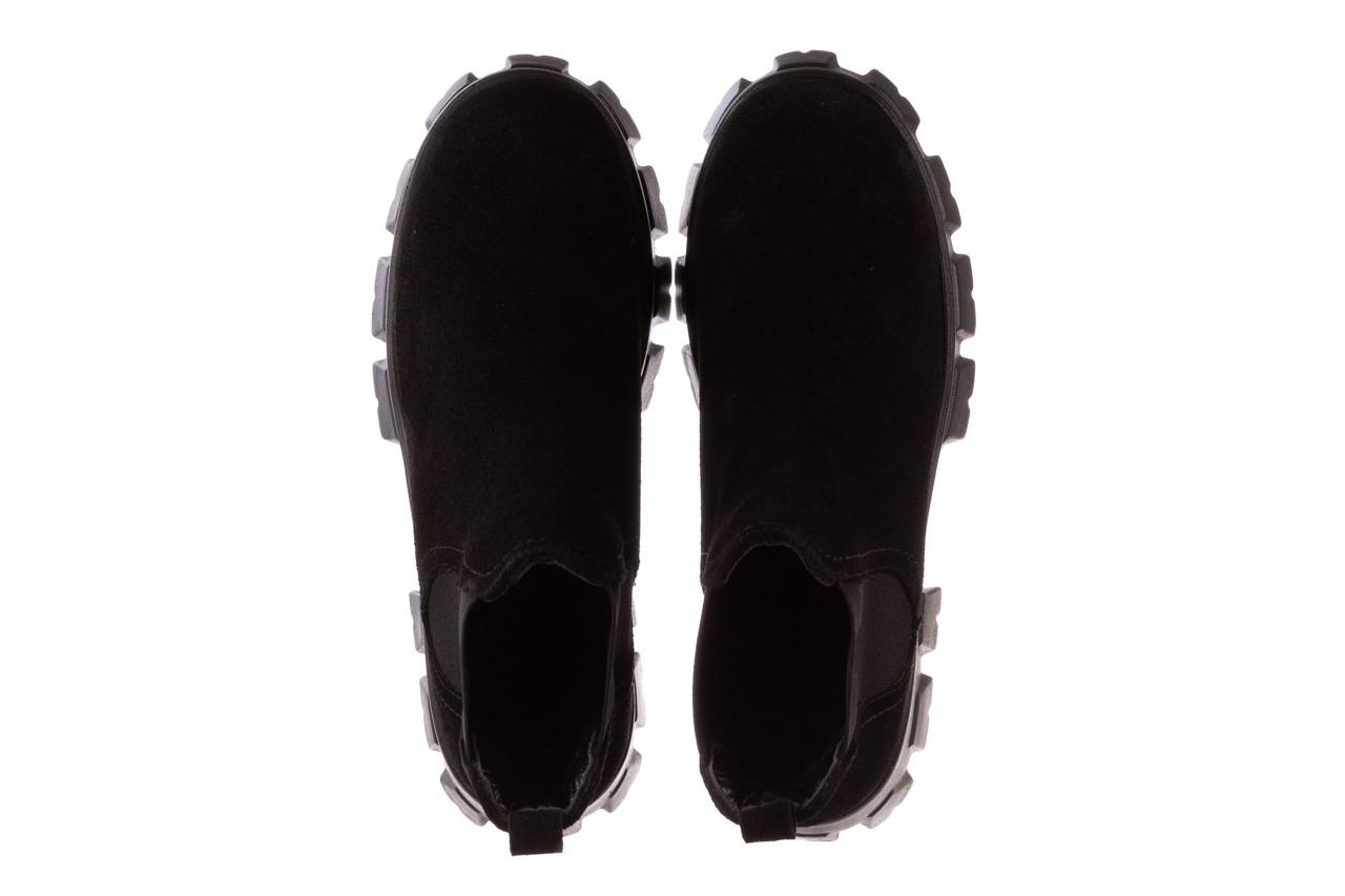 Botki bayla-196 20ef126-01 y16 196016, czarny, skóra naturalna  - buty zimowe - trendy - kobieta 15