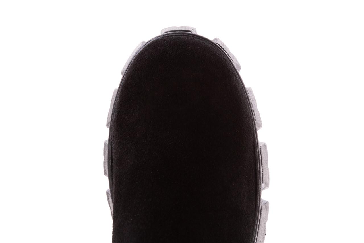 Botki bayla-196 20ef126-01 y16 196016, czarny, skóra naturalna  - buty zimowe - trendy - kobieta 17