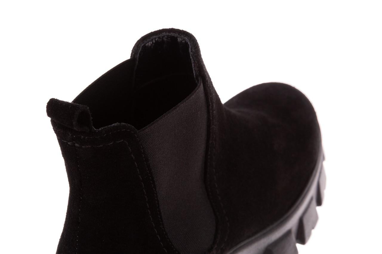 Botki bayla-196 20ef126-01 y16 196016, czarny, skóra naturalna  - buty zimowe - trendy - kobieta 19