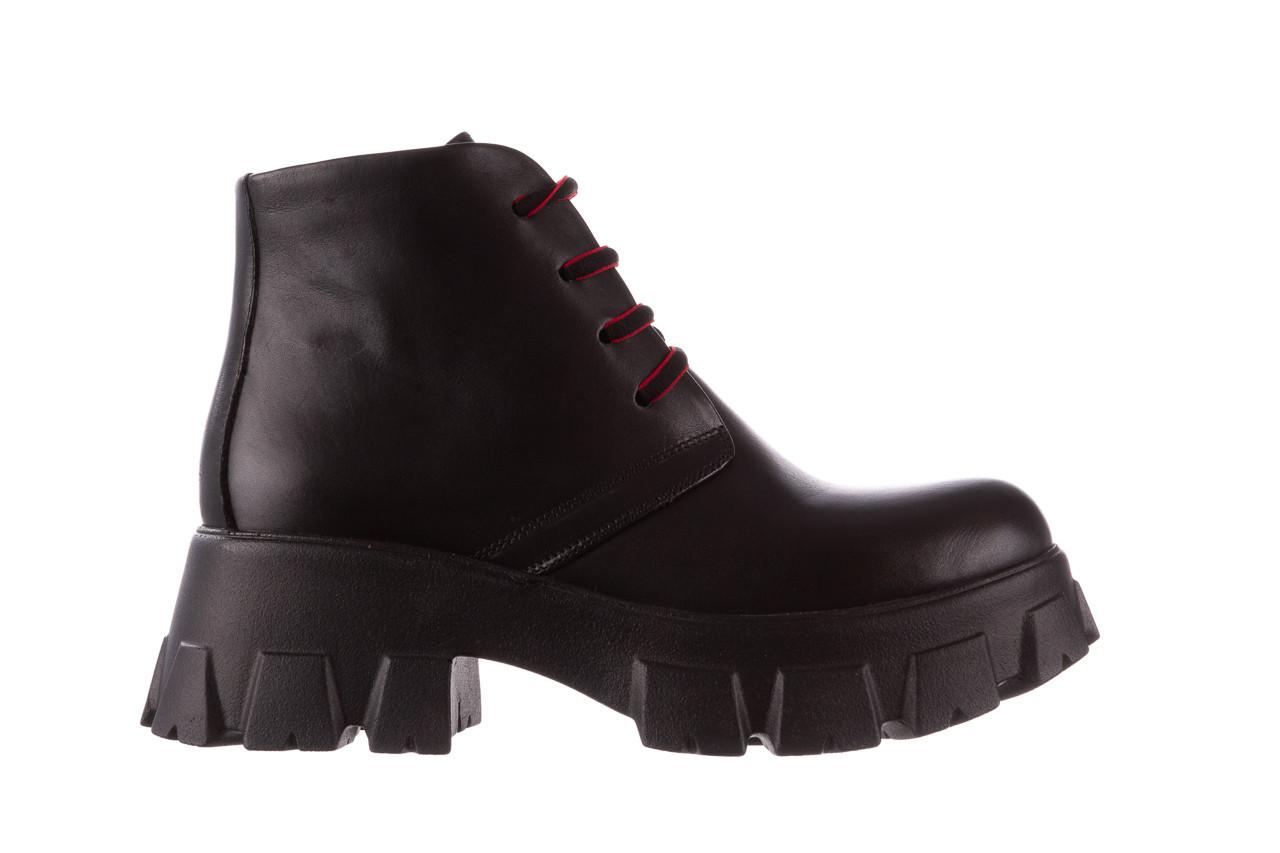 Botki bayla-196 20ef126-02 d44 196018, czarny, skóra naturalna  - botki - buty damskie - kobieta 11