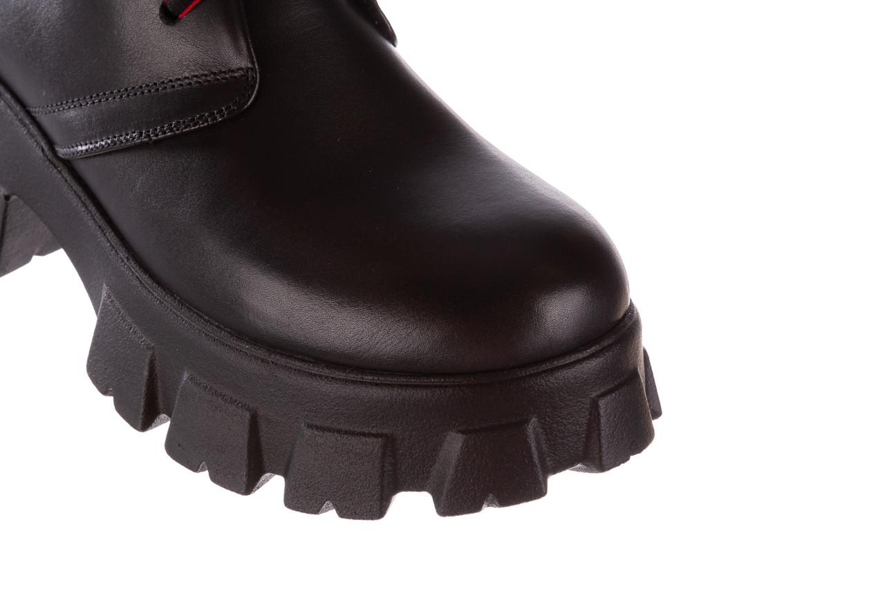 Botki bayla-196 20ef126-02 d44 196018, czarny, skóra naturalna  - botki - buty damskie - kobieta 17