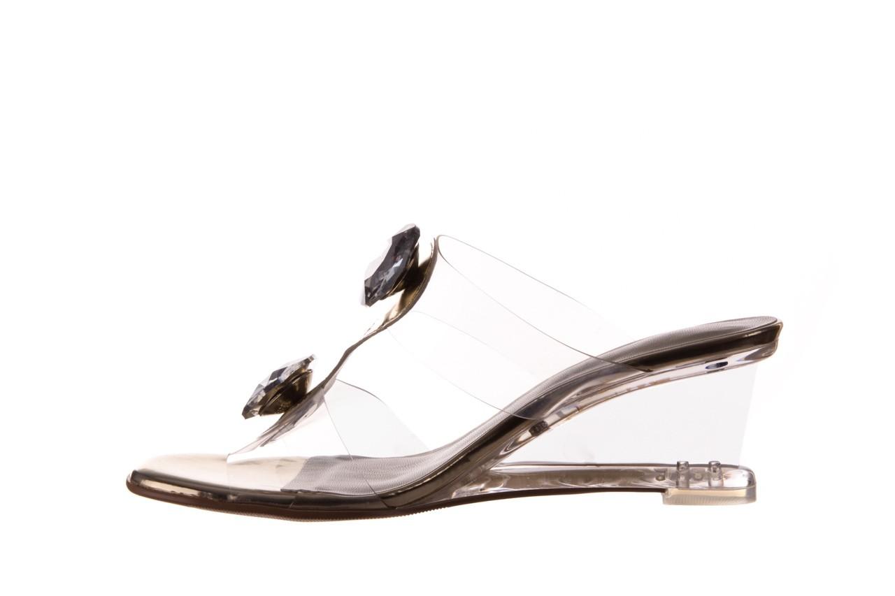 Klapki sca'viola g-29 gold, złoty, silikon  - sca`viola - nasze marki 10