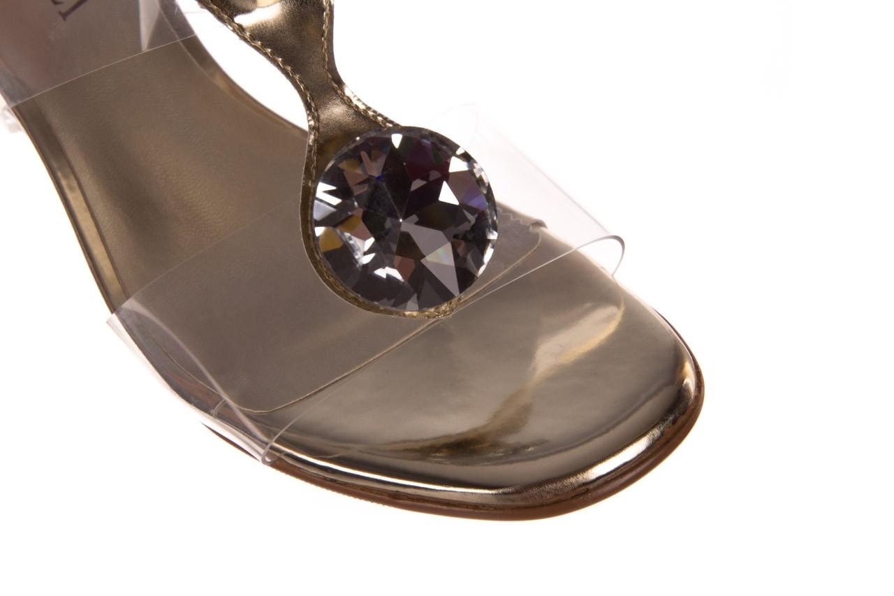 Klapki sca'viola g-29 gold, złoty, silikon  - sca`viola - nasze marki 13