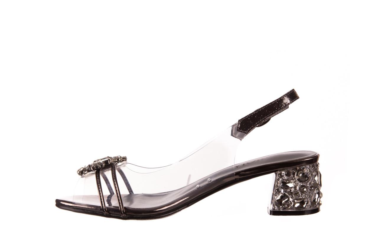 Sandały sca'viola g-25 pewter 21 047172, srebro, silikon 10