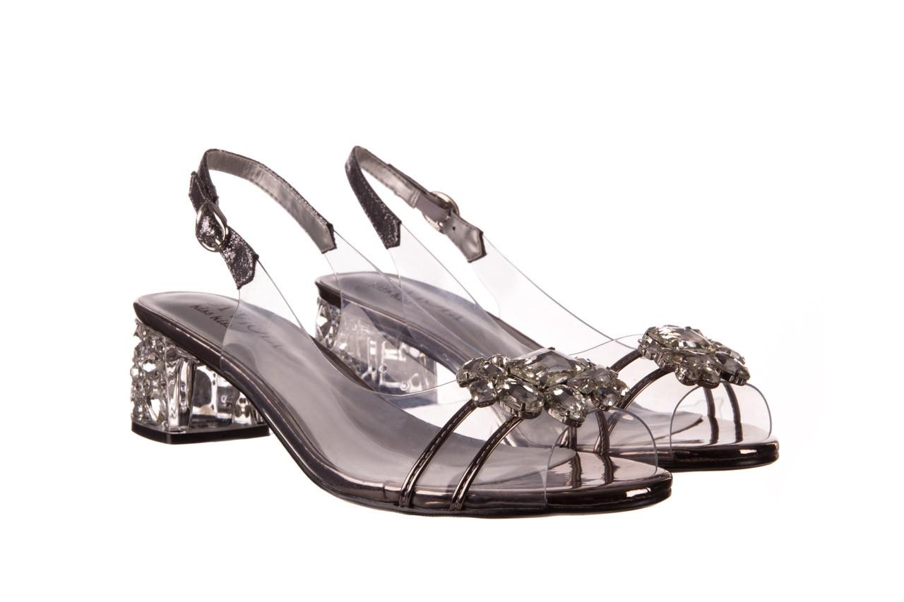 Sandały sca'viola g-25 pewter 21 047172, srebro, silikon 9