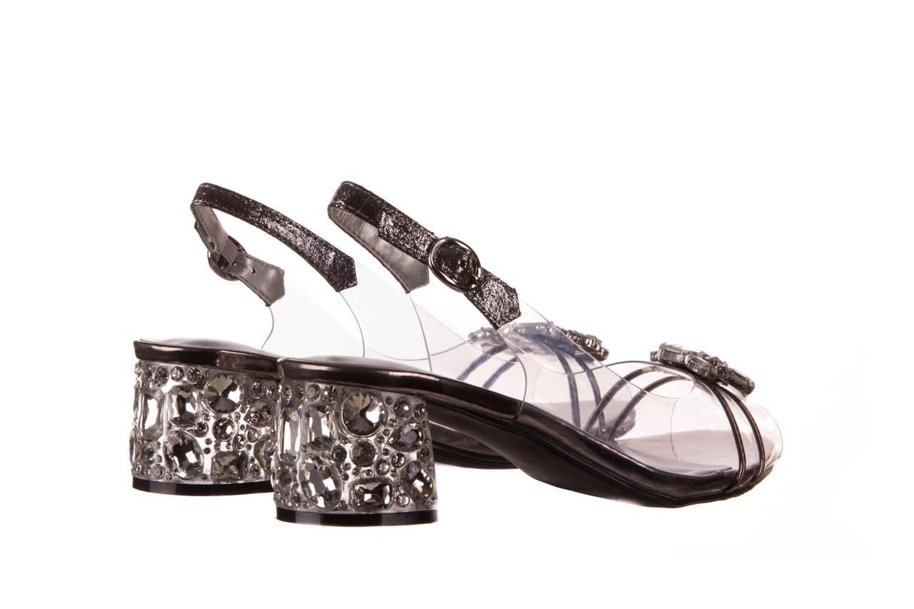 Sandały sca'viola g-25 pewter 21 047172, srebro, silikon 11