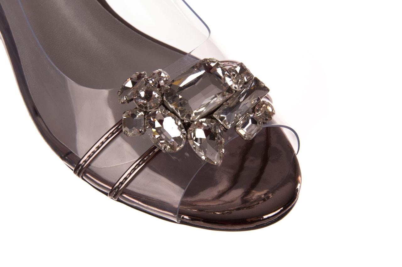 Sandały sca'viola g-25 pewter 21 047172, srebro, silikon 13