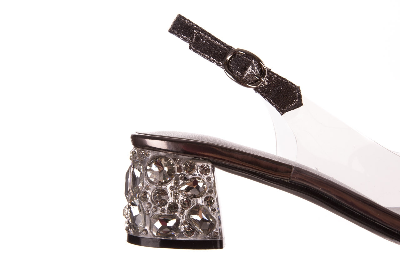 Sandały sca'viola g-25 pewter 21 047172, srebro, silikon 14