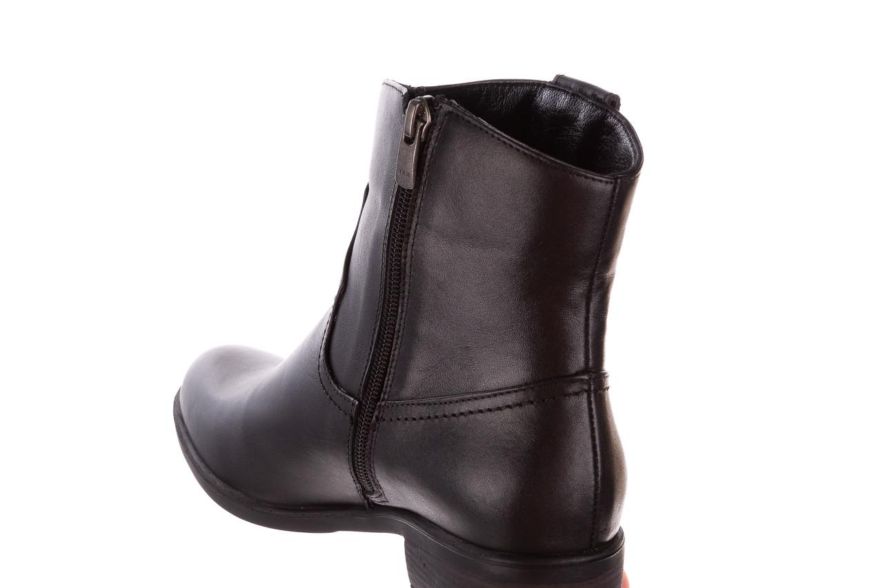 Botki bayla-196 147811 d44 196006, czarny, skóra naturalna  - kobieta 16