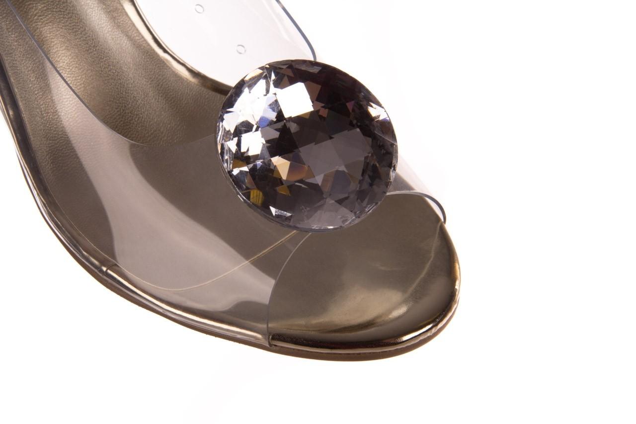 Sandały sca'viola g-17 gold, złoty, silikon - gumowe - sandały - buty damskie - kobieta 13