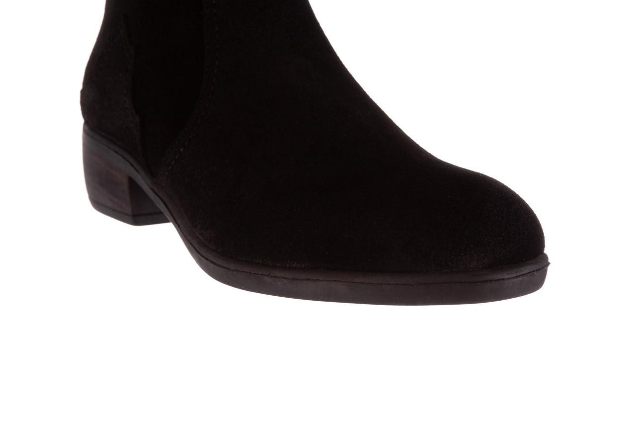 Botki bayla-196 147802 siy yarma 196005, czarny, skóra naturalna  - kowbojki / boho - botki - buty damskie - kobieta 15