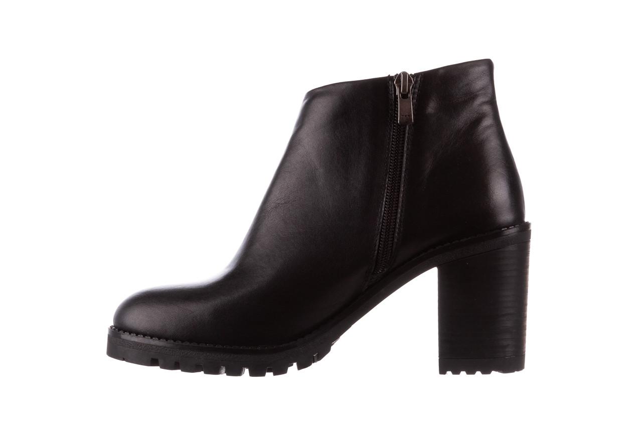 Botki bayla-196 969601 siy soft 196030, czarny, skóra naturalna  - botki - buty damskie - kobieta 12