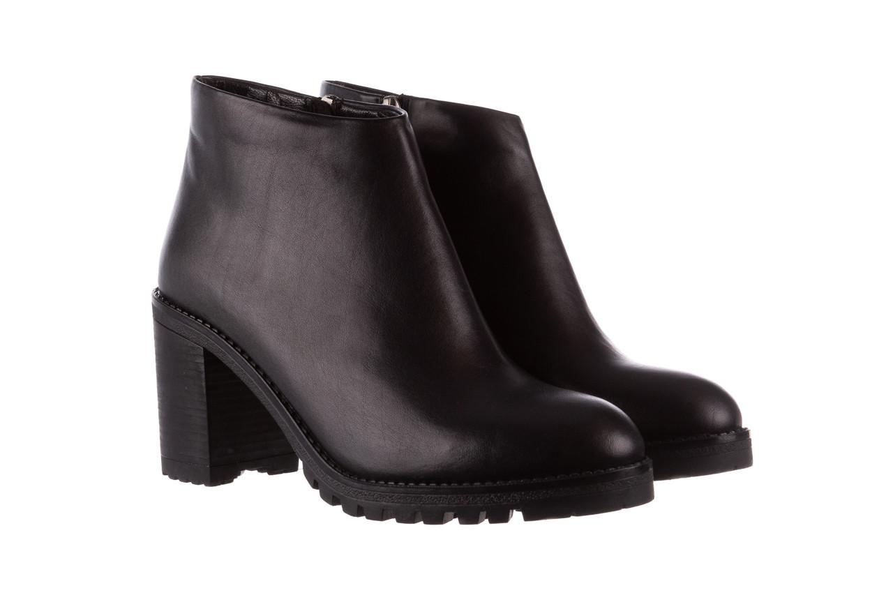 Botki bayla-196 969601 siy soft 196030, czarny, skóra naturalna  - botki - buty damskie - kobieta 10