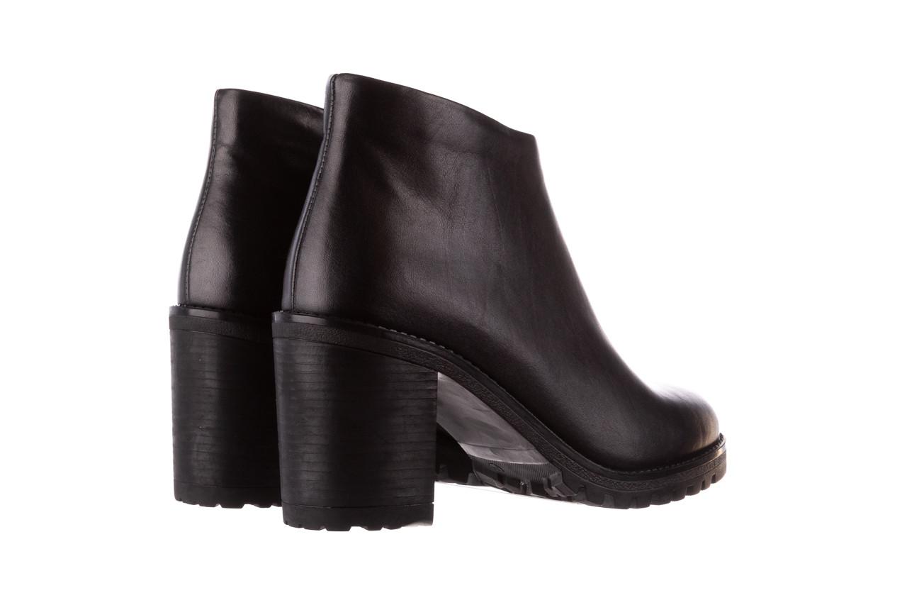 Botki bayla-196 969601 siy soft 196030, czarny, skóra naturalna  - botki - buty damskie - kobieta 13