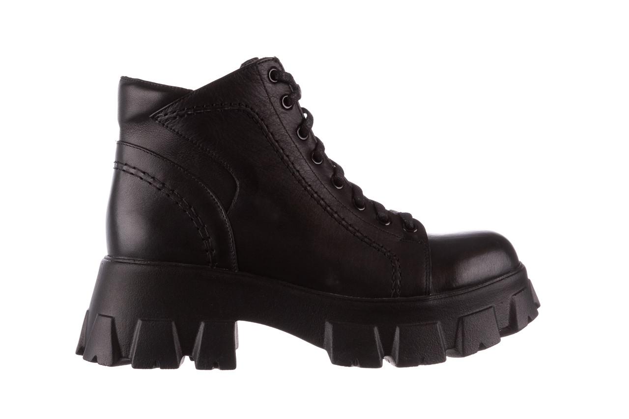 Botki bayla-196 20ef126-03 d44 196020, czarny, skóra naturalna  - skórzane - botki - buty damskie - kobieta 12