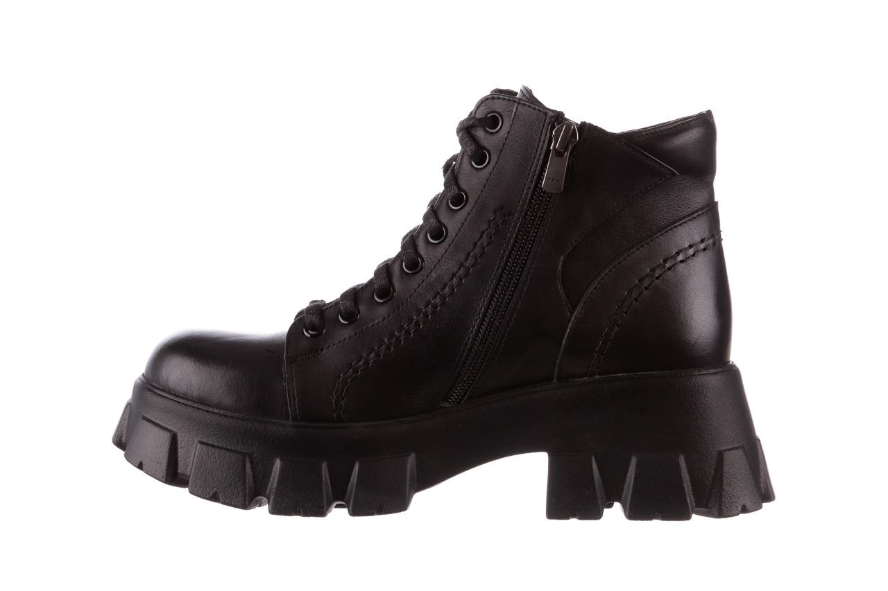 Botki bayla-196 20ef126-03 d44 196020, czarny, skóra naturalna  - skórzane - botki - buty damskie - kobieta 15