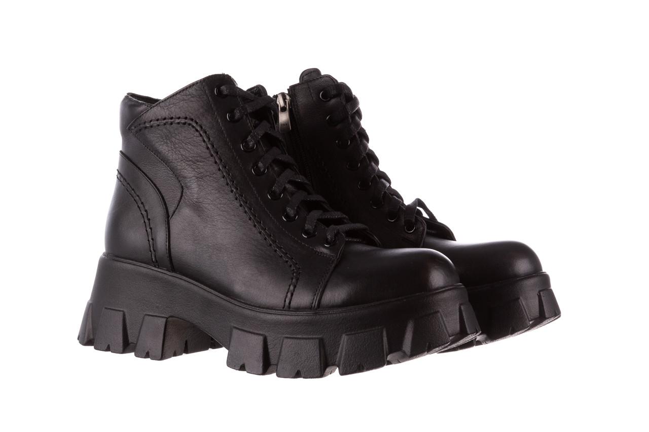 Botki bayla-196 20ef126-03 d44 196020, czarny, skóra naturalna  - skórzane - botki - buty damskie - kobieta 13