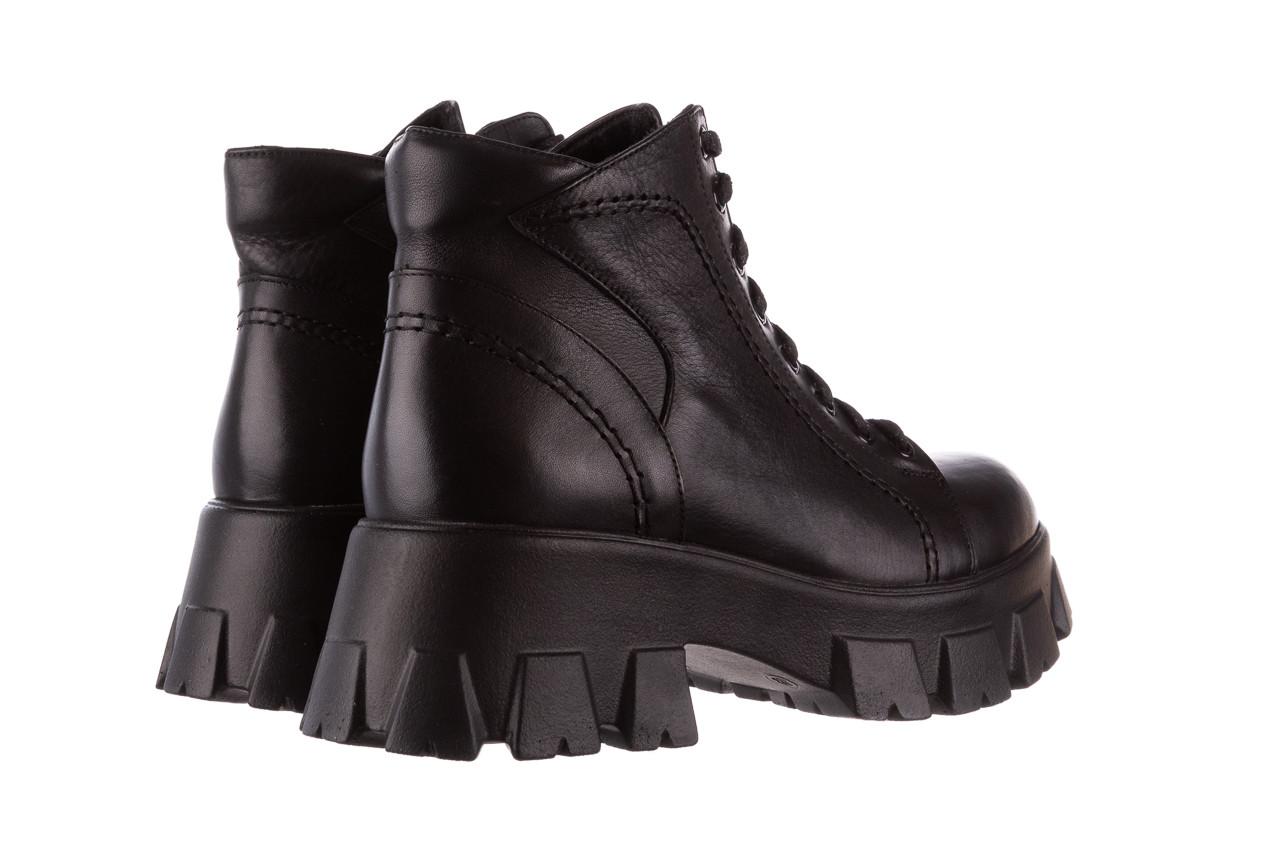 Botki bayla-196 20ef126-03 d44 196020, czarny, skóra naturalna  - skórzane - botki - buty damskie - kobieta 16