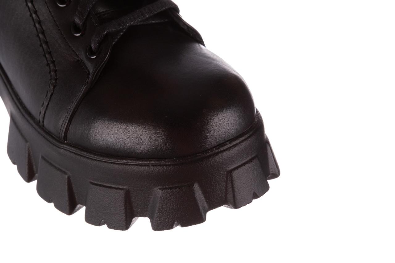 Botki bayla-196 20ef126-03 d44 196020, czarny, skóra naturalna  - skórzane - botki - buty damskie - kobieta 18