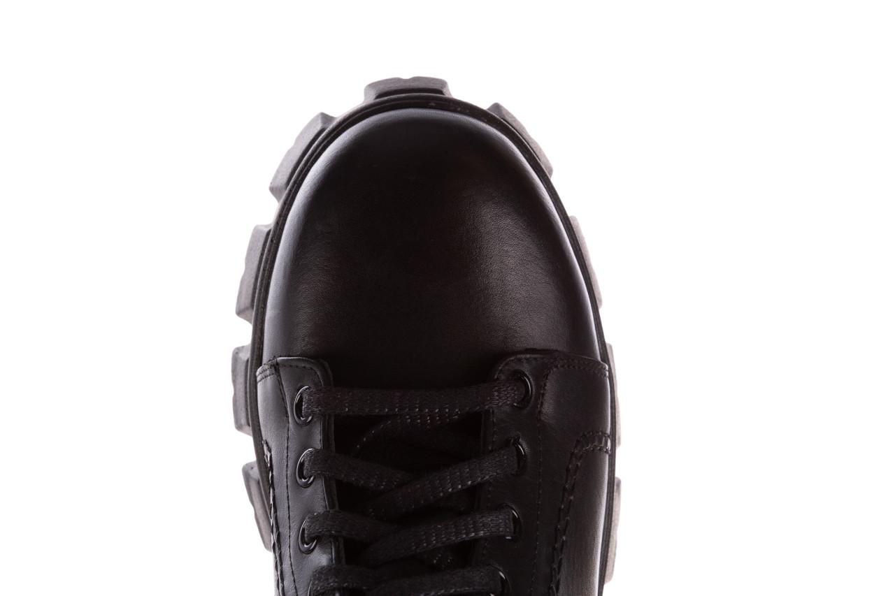 Botki bayla-196 20ef126-03 d44 196020, czarny, skóra naturalna  - skórzane - botki - buty damskie - kobieta 19