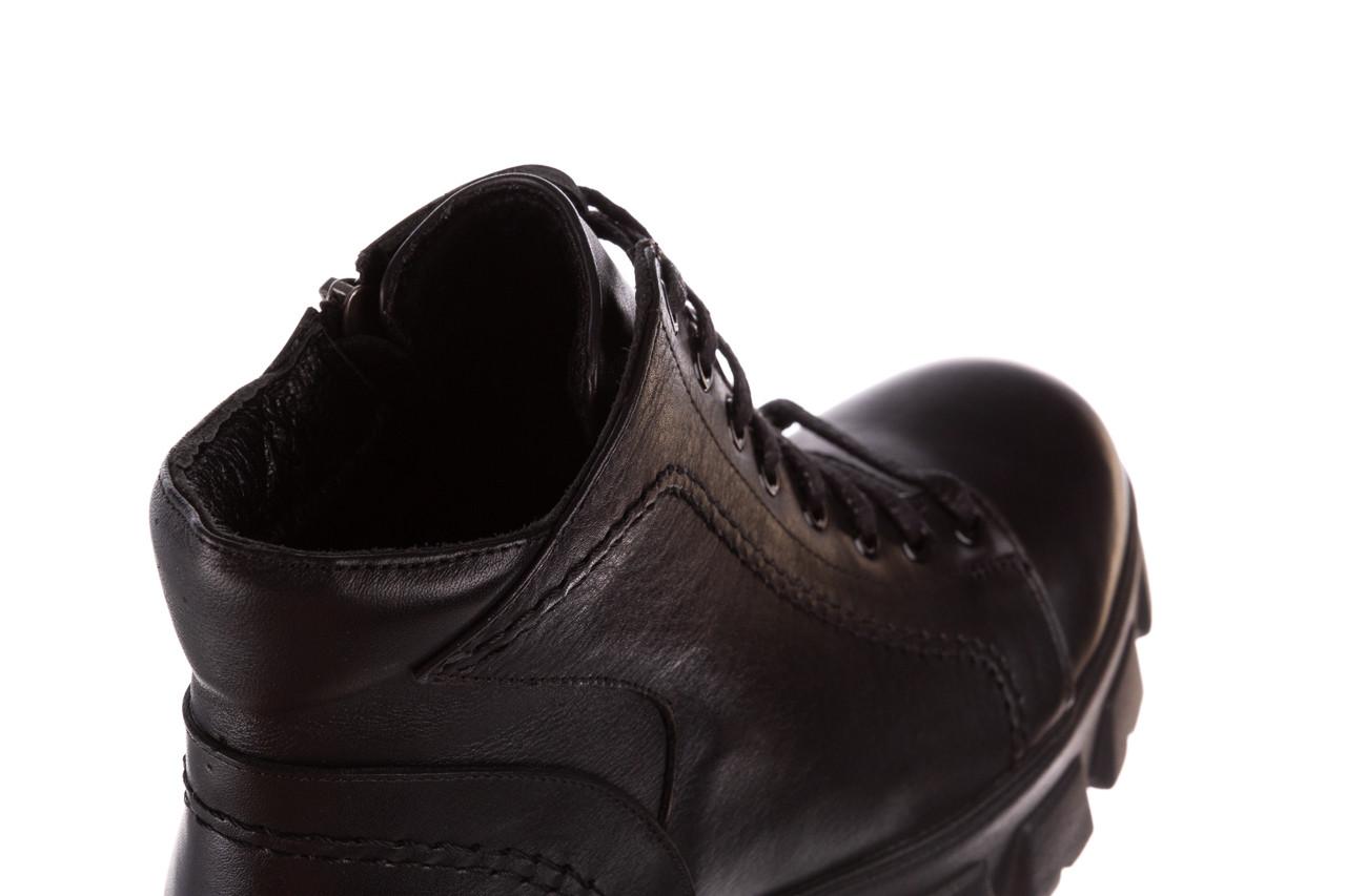 Botki bayla-196 20ef126-03 d44 196020, czarny, skóra naturalna  - skórzane - botki - buty damskie - kobieta 21
