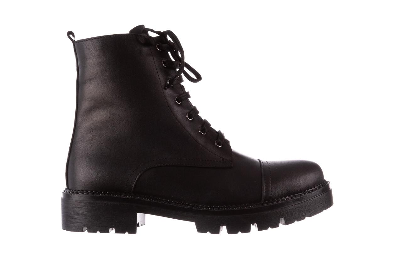 Trzewiki bayla-196 263801 d44 196025, czarny, skóra natutralna  - trzewiki - buty damskie - kobieta 9