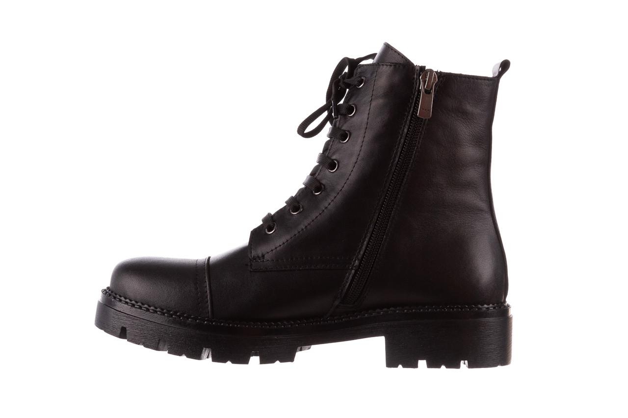 Trzewiki bayla-196 263801 d44 196025, czarny, skóra natutralna  - trzewiki - buty damskie - kobieta 12