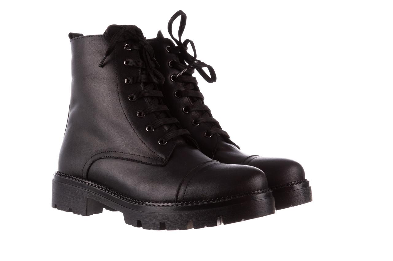 Trzewiki bayla-196 263801 d44 196025, czarny, skóra natutralna  - trzewiki - buty damskie - kobieta 10