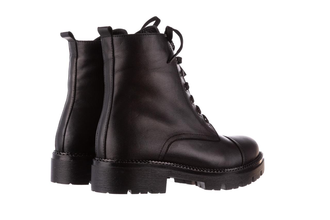 Trzewiki bayla-196 263801 d44 196025, czarny, skóra natutralna  - trzewiki - buty damskie - kobieta 13