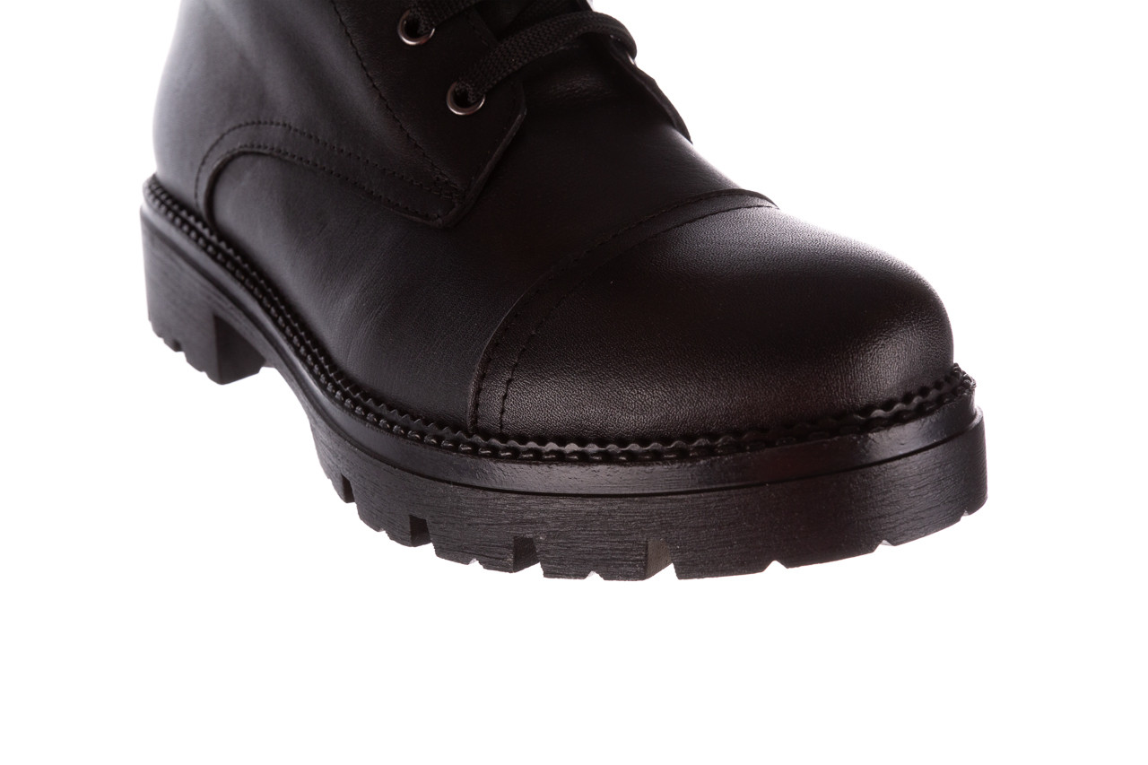 Trzewiki bayla-196 263801 d44 196025, czarny, skóra natutralna  - trzewiki - buty damskie - kobieta 15