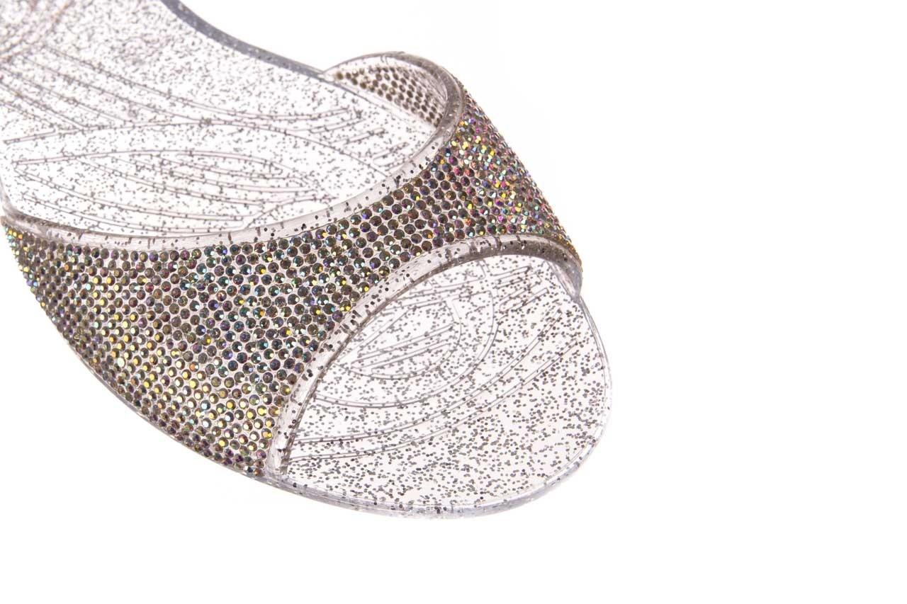 Baleriny sca'viola g-22 silver, srebrny, silikon  - peep toe - baleriny - buty damskie - kobieta 12