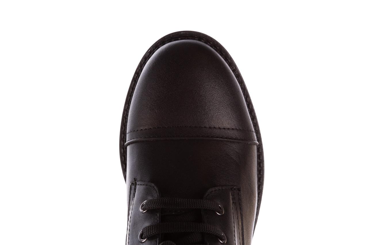 Trzewiki bayla-196 263801 d44 196025, czarny, skóra natutralna  - trzewiki - buty damskie - kobieta 16