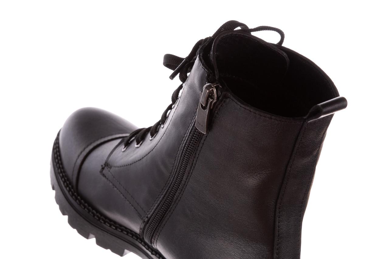 Trzewiki bayla-196 263801 d44 196025, czarny, skóra natutralna  - trzewiki - buty damskie - kobieta 17