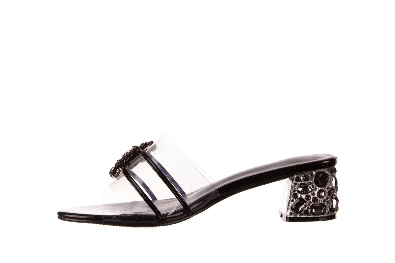 Klapki sca'viola g-27 black, czarny, silikon  - mega okazje - ostatnie rozmiary 9