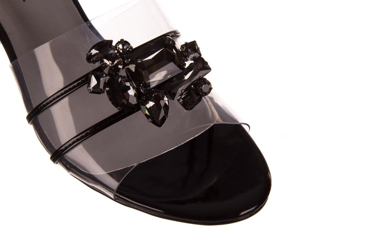 Klapki sca'viola g-27 black, czarny, silikon  - mega okazje - ostatnie rozmiary 12