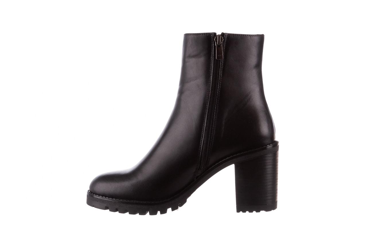 Botki bayla-196 969606 siy soft 196031, czarny, skóra naturalna  - skórzane - botki - buty damskie - kobieta 13